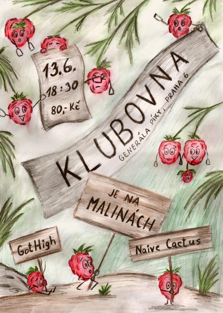 Koncert, Praha @ Klubovna, Dejvice