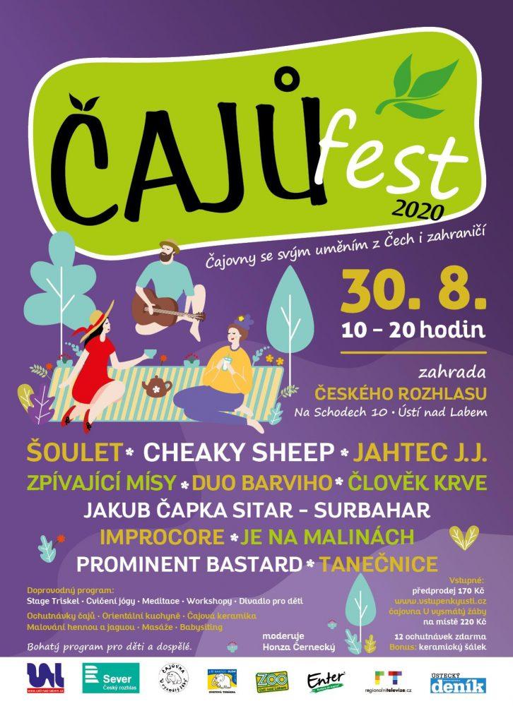Čajů Fest 2020, Ústí n. Labem @ Český rozhlas sever